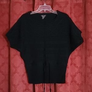 Sweater Project Womens L Knit Short Sleeve Sweater
